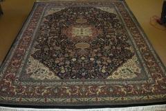 103022 Indo  Ispahan  Dark Blue_Rust