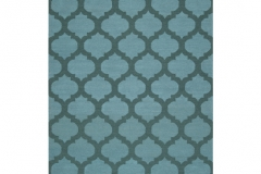 137585 Chatham FT123 Sea Blue _ Teal Green Wool 5x8