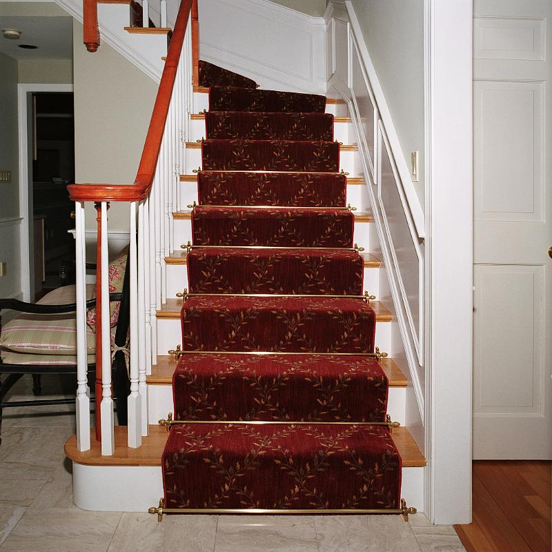 The Finishing Touch – Stair Rods | Colony Rug provider of ...