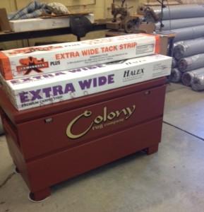 Colony Rug Tool Box