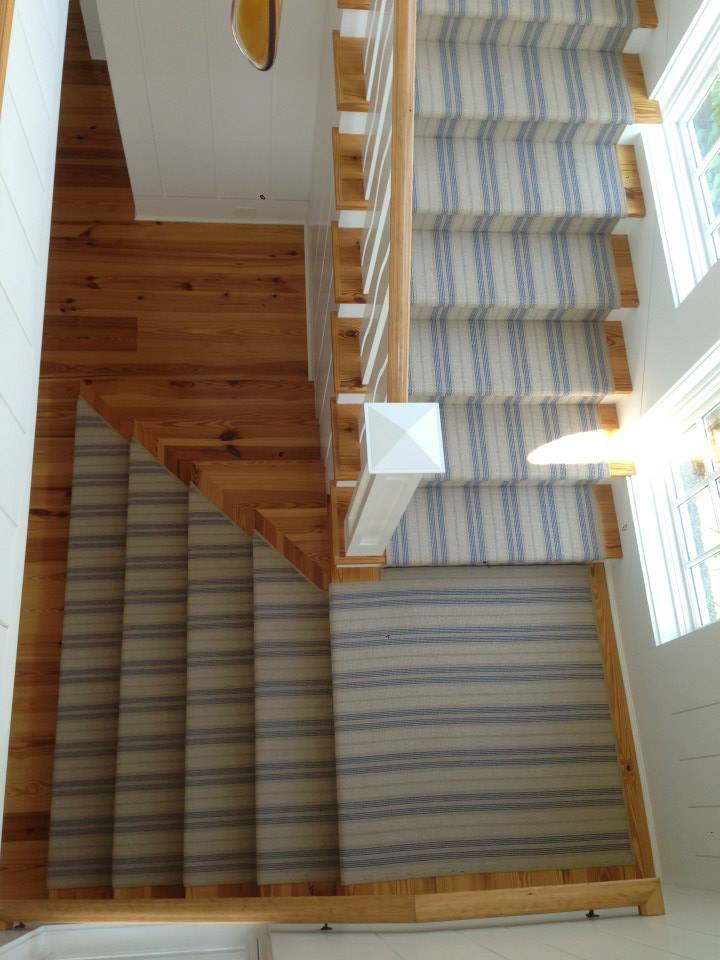 Stripes On Stairs! | Colony Rug Provider Of Carpet Products, Services, And  Installations