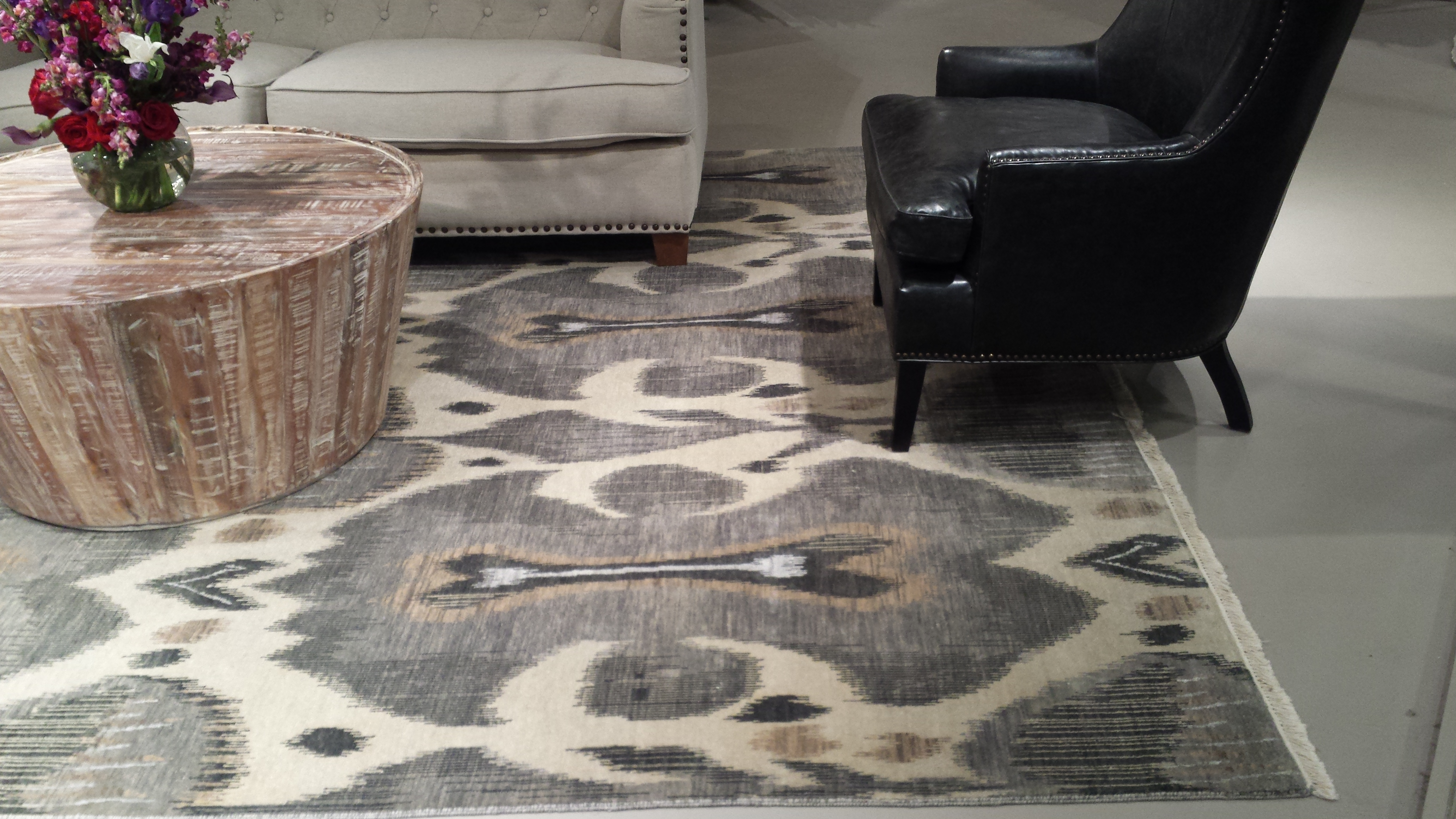 Ikat Is A Great Look Colony Rug Provider Of Carpet