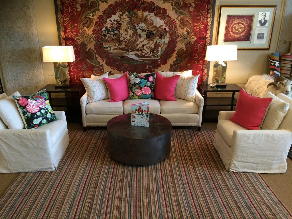 Delicious Designs Home accessorizes Colony Rug