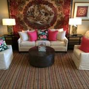 Delicious Designs Home Accessorizes Colony Rug's Showroom